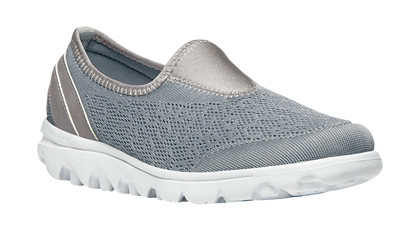 Propet Travelactiv Slip-on Silver