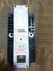 RELAY, 4NO-2NC, 5 AMP, 1250 OHM U.L. COIL, 2010 OHM L. COIL, PICK UP .016-.020 AMPS (GR)