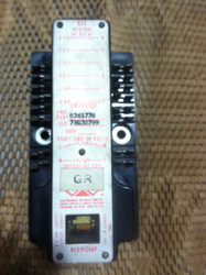 RELAY, 4NO-2NC, 5 AMP, 1250 OHM U.L. COIL, 2010 OHM L. COIL, PICK UP .016-.020 AMPS (GR) PN 8361776