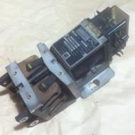 CONTACTOR, 2 POLE, 30 AMP, 74 VDC, AUX INT. 3NO-1NC360 OHM COIL (STA) PN 8482180U