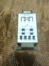 RELAY, TIME DELAY, 2NO-2NC, 10 AMP, 74VDC, PU 48V, DO 5V, 35 MIN +-10%  DELAY ON  PU (TLTD) PN PM766U