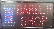 Barber Shop LED Sign