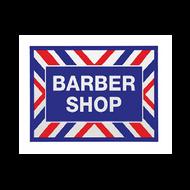 Barber Shop Decal