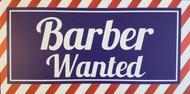 Barber Wanted Sign