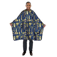 Cutting Cape - Limited Edition Royal Blue/Gold