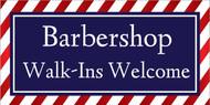 Barbershop Walkins Welcome Sign