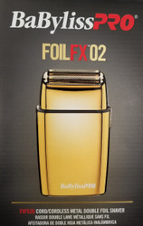 BabylissPro Pro Foil FX2 Shaver GOLD