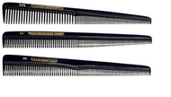 Master Barber Combs - Hard Rubber