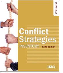 Conflict Strategies Inventory Self Assessment
