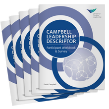 Campbell Leadership Descriptor  Workbook & Survey 5-Pack