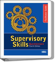Supervisory Skills Questionnaire Facilitator Guide