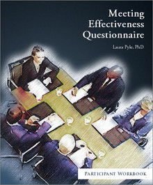 Meeting Effectiveness Questionnaire Participant Workbook