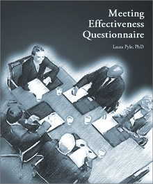 Meeting Effectiveness Questionnaire Questionnaire Only