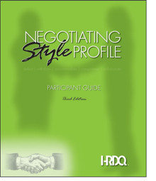 Negotiating Style Profile Self Assessment 5-Pack