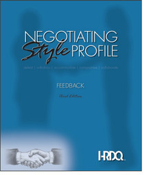 Negotiating Style Profile Feedback Form 5-Pack