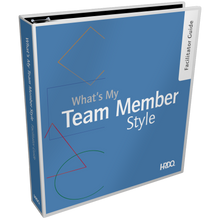 What's My Team Member Style Facilitator Guide
