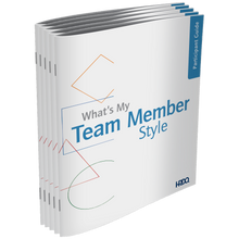 What's My Team Member Style Self Assessment 5-Pack