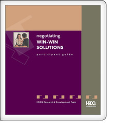 Negotiating Win-Win Solutions - Participant Guide