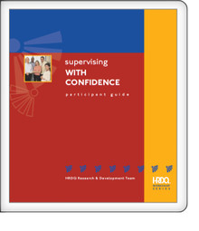 Supervising With Confidence - Participant Guide