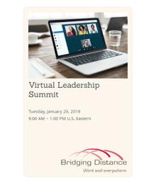 Virtual Leadership Summit 01-29-2019