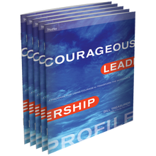 Courageous Leadership Profile Booklet 5-Pack