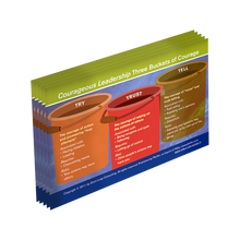 Courageous Leadership Wallet Card 5-Pack