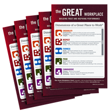 The Great Workplace Wallet Card 5-Pack