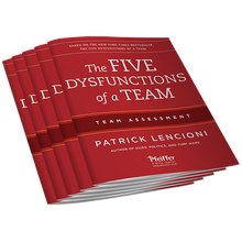 Five Dysfunctions of a Team Assessment 5-Pack