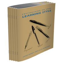 Learning Style Questionnaire Workbook 5-Pack