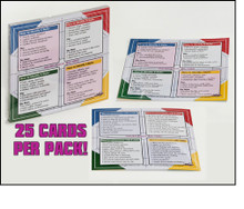 Extended DISC® Quick Reference Cards (25 Card Pack)