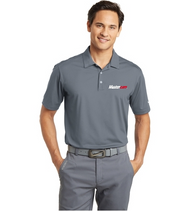 Nike® Golf  Dri-FIT Men's Cool Grey Polo