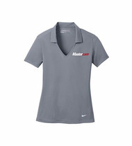 Nike® Golf Ladies Dri-FIT Vertical Mesh Cool Grey Polo