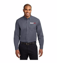 Men's Port Authority® Long Sleeve Work Shirt with Button Down Collar