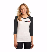 Ladies Sport-Tek® 3/4-Sleeve Raglan Tee