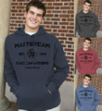 "Big and Comfy Mastercam® ""Certified Design"" Hooded Sweatshirts"