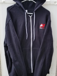 ** NEW ** Bella + Canvas Unisex Poly-Cotton Fleece Full-Zip Hoodie