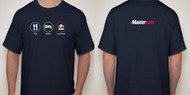 Mastercam® Eat Sleep Machine Navy T-Shirt