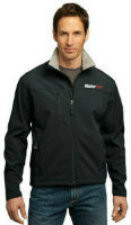 Men's Glacier® Soft Shell Jacket in Black