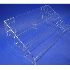 Acrylic Gridwall 3-Tier Display