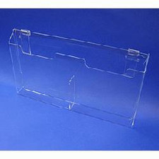 Acrylic Gridwall Double Brochure Holder