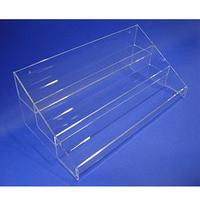 Acrylic Slatwall 3-Tier Display