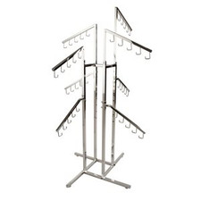 Handbag Rack with Downslant Arms