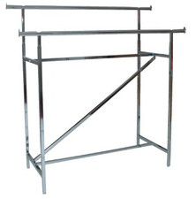Heavy Duty Adjustable Double-Bar Rack