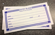 Entry Forms (100 Count)