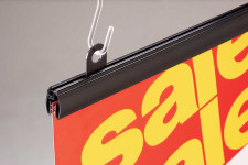 Banner Holder (Clear PVC)