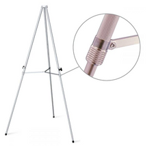 Telescoping Display Easel in Aluminum