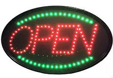"LED ""OPEN"" Sign"