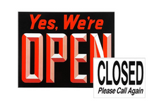 """OPEN""/""CLOSE"" Sign"