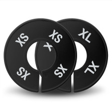 Black Round Size Dividers