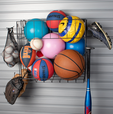 SPORTS ACCESSORY RACK